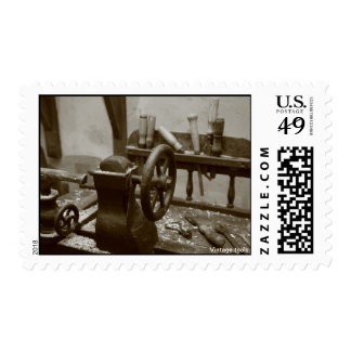 Vintage tools stamp