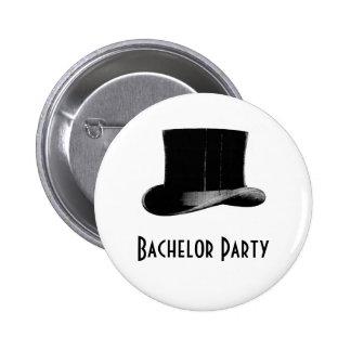 Vintage Top Hat Buttons
