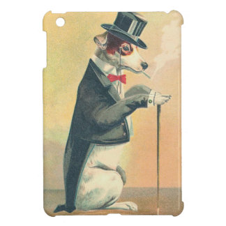 Vintage Top Hat Dog Case For The iPad Mini