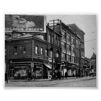 Vintage Toronto Ontario Canada Print