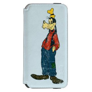 Vintage torpe funda billetera para iPhone 6 watson