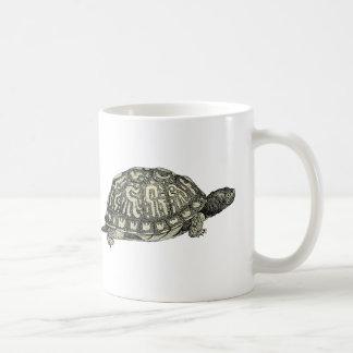 Vintage Tortoise Illustration Coffee Mug