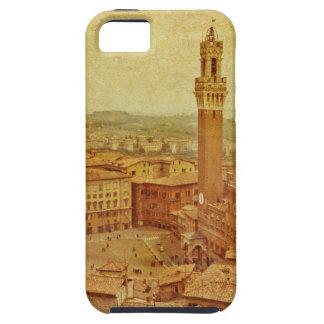 Vintage Toscana, Siena medieval iPhone 5 Funda