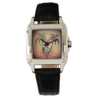Vintage, toucan lindo relojes de pulsera