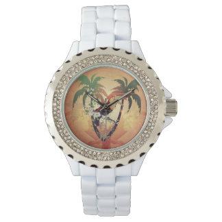 Vintage, toucan lindo relojes