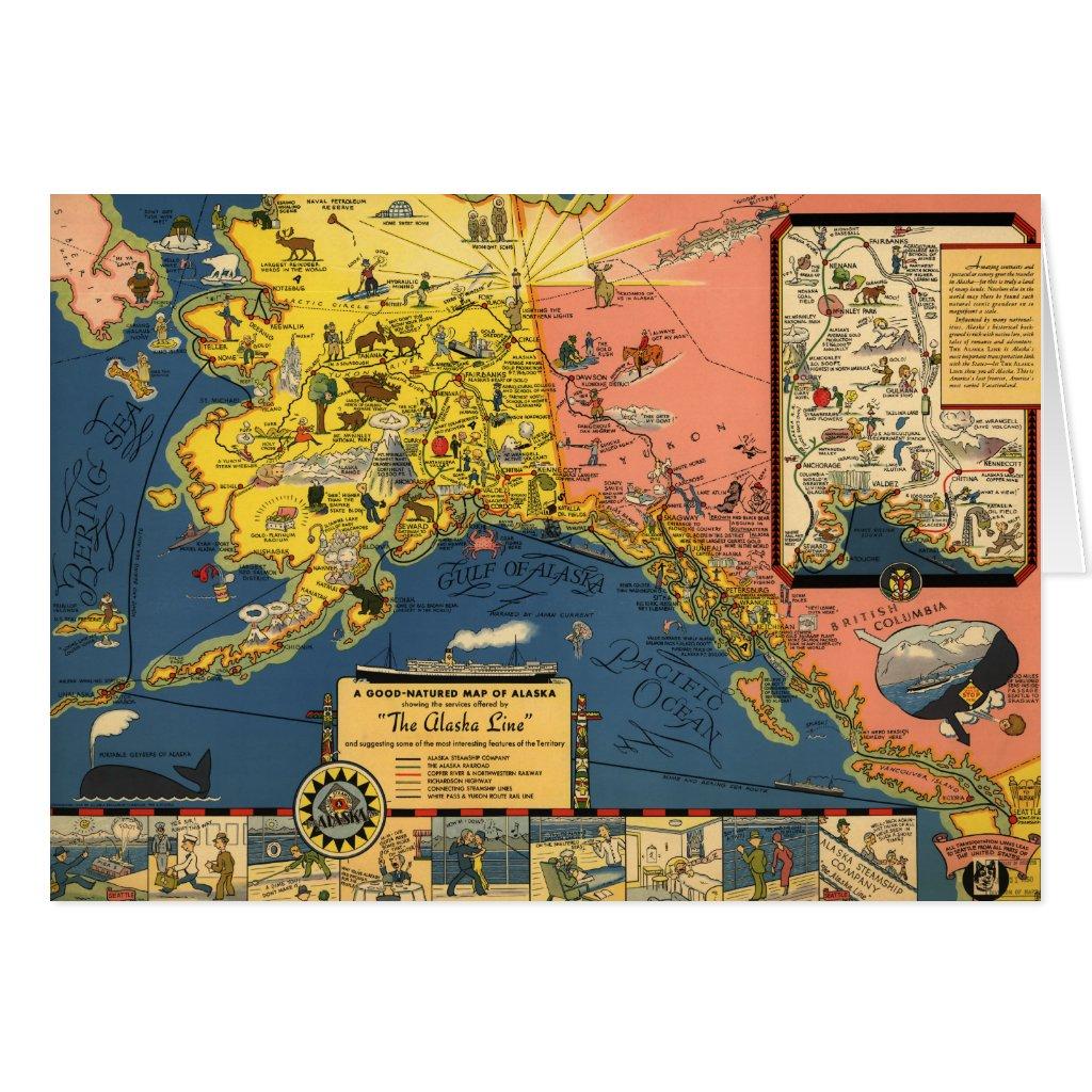 Alaska Tourist Map – Alaska Tourist Map