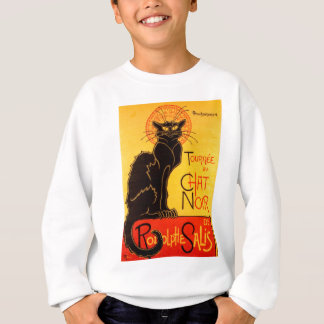 Vintage Tournee de Chat Noir Black Cat Sweatshirt