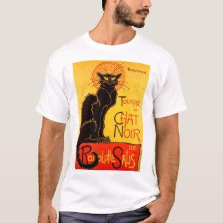 Vintage Tournee de Chat Noir Black Cat T-Shirt