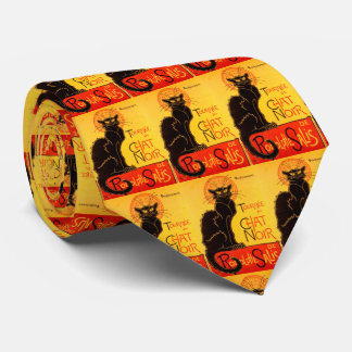 Vintage Tournee de Chat Noir Black Cat Tie