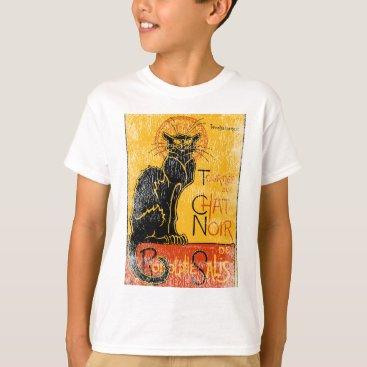 Halloween Themed Vintage Tournee du Chat Noir Black Cat Halloween T-Shirt