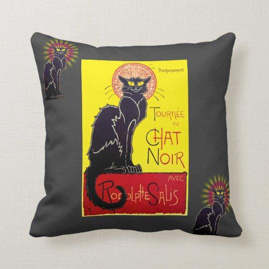 Vintage Tournee du Chat Noir Cabaret Cushion