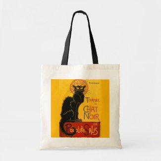 Vintage Tournée du Chat Noir Theophile Steinlen Canvas Bag
