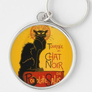 Vintage Tournée Du Chat Noir Theophile Steinlen Keychains