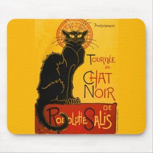 Vintage Tournée du Chat Noir Theophile Steinlen Mouse Pad