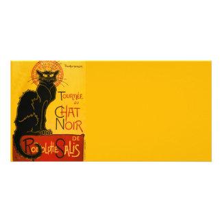 Vintage Tournée Du Chat Noir Theophile Steinlen Photo Card