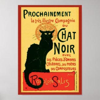 Vintage Tournée du Chat Noir Theophile Steinlen Poster