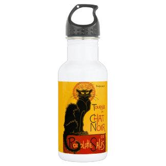 Vintage Tournée du Chat Noir Theophile Steinlen Water Bottle