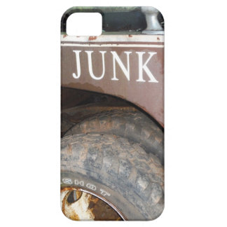 Vintage Tow Truck cash for junk Car Sign iPhone 5 Case
