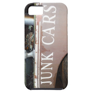 Vintage Tow Truck cash for junk Car Sign Case For iPhone 5/5S