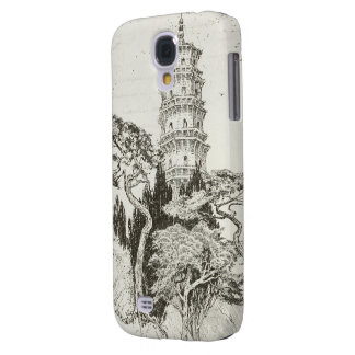 Vintage Tower on Hill Samsung Galaxy S4 Case
