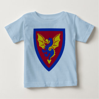 Vintage Toy Brick Knight Shield Logo Baby T-Shirt