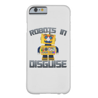 Vintage toy robot in disguise barely there iPhone 6 case