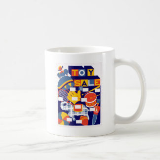Vintage Toy Sale Artwork Coffee Mug