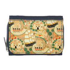 Vintage Toy Soldiers Castles And Ships Wallet at Zazzle