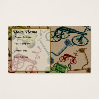 Vintage Toys Business Card