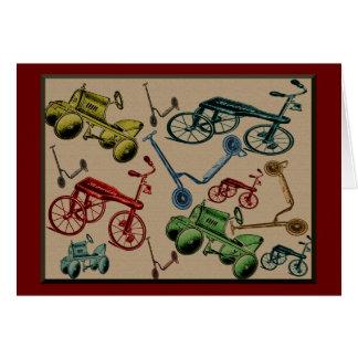 Vintage Toys Card