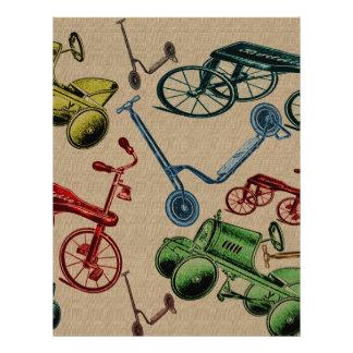 Vintage Toys Custom Letterhead