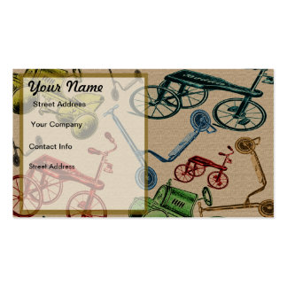 Vintage Toys Double-Sided Standard Business Cards (Pack Of 100)