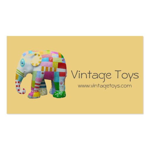 Toys For Business : Vintage toys handmade and kid s items business card
