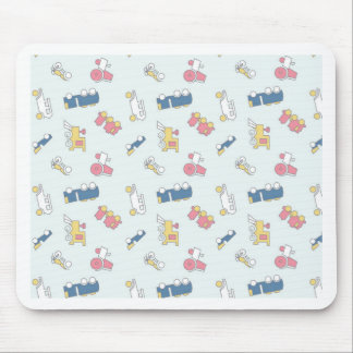 Vintage Toys Mouse Pad