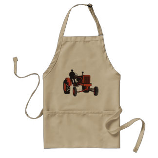Vintage Tractor Adult Apron