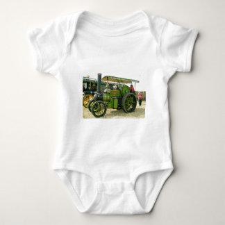 vintage tractor baby bodysuit
