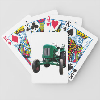 Vintage Tractor Bicycle Playing Cards