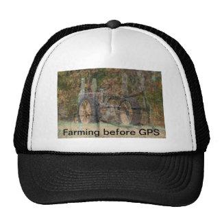 Vintage Tractor Farming Cap- customize Trucker Hat