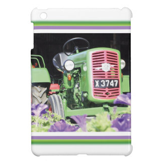 Vintage Tractor Flowers Cover For The iPad Mini