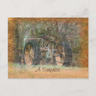 Vintage Tractor Invitation for any occasion