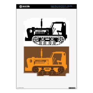 Vintage Tractor iPad 3 Skins