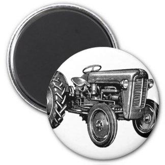 Vintage Tractor Magnet
