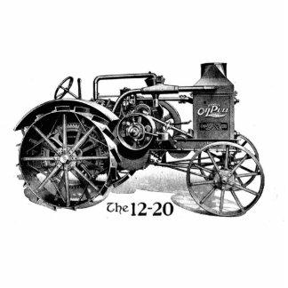 Vintage Tractor Photo Cutouts