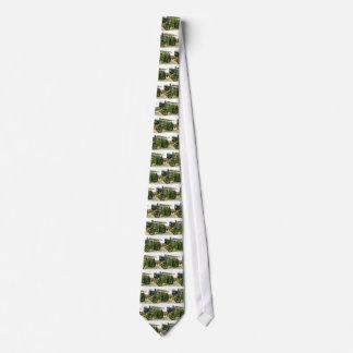 vintage tractor tie