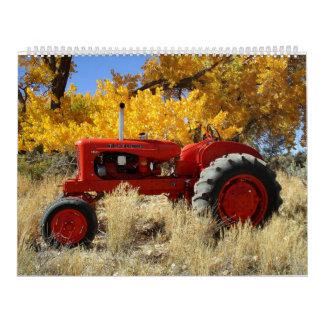 Vintage Tractors 12 Month Calender Calendar