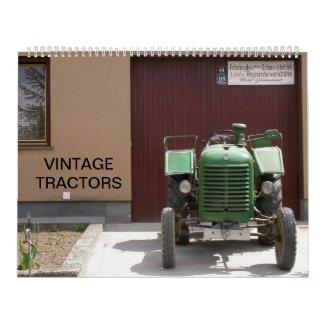 Vintage Tractors 2015 Calendar