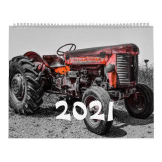 Vintage Tractors 2021 Calendar