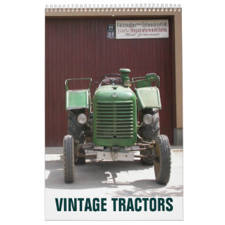 Vintage Tractors 2021 Traktor Kalender Calendar