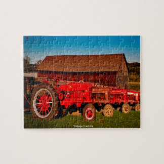 Vintage Tractors Jigsaw Puzzle