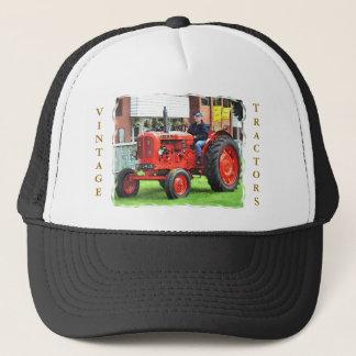 VINTAGE TRACTORS TRUCKER HAT